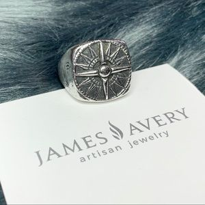James Avery Guide My Way compass ring 8.5-9 ring